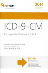 ICD-9-CM Standard for Hospitals 2014 1st Edition 9781622540112 1622540115