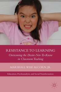 Resistance to Learning 1st Edition 9781137002853 1137002859