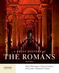 A Brief History of the Romans 2nd Edition 9780199987559 0199987556
