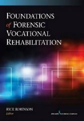 Foundations of Forensic Vocational Rehabilitation 1st Edition 9780826199287 0826199283