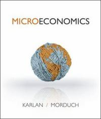 Microeconomics 1st Edition 9780077332587 007733258X