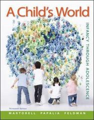 A Child's World 13th Edition 9780078035432 0078035430