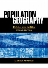 Population Geography 2nd Edition 9781442220997 1442220996