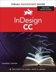 InDesign CC 1st Edition 9780321929570 0321929578
