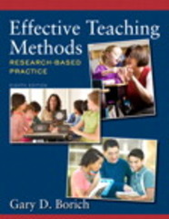Effective Teaching Methods 8th Edition 9780133400731 0133400735