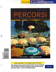 Percorsi 2nd Edition 9780205990306 0205990304