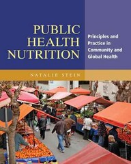 Public Health Nutrition 1st Edition 9781449692049 1449692044
