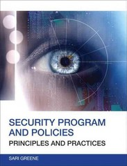 Security Program and Policies 2nd Edition 9780789751676 0789751674