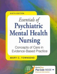 Essentials of Psychiatric Mental Health Nursing 6th + Pedersen Psych Notes 4th 6th Edition 9780803640115 0803640110
