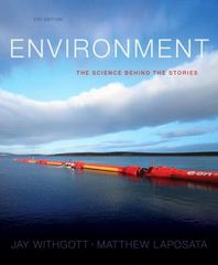 Environment 5th Edition 9780321897428 0321897420