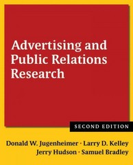 Advertising and Public Relations Research 2nd Edition 9780765636065 0765636069