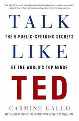 Talk Like TED 1st Edition 9781250041128 1250041120