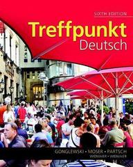 Treffpunkt Deutsch 6th Edition 9780205995035 0205995039