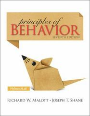 Principles of Behavior 7th Edition 9781317345114 1317345118