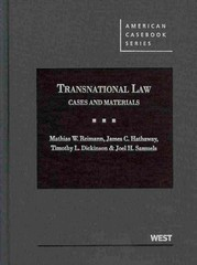 Transnational Law 1st Edition 9780314154507 0314154507