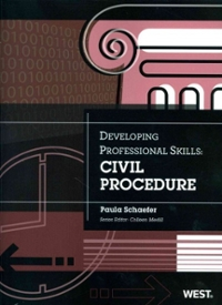 Schaefer's Developing Professional Skills 1st Edition 9780314279538 0314279539