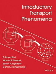 Introductory Transport Phenomena 1st Edition 9781118953716 1118953711