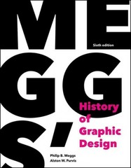 Meggs' History of Graphic Design 6th Edition 9781118772058 1118772059