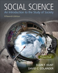 Social Science 15th edition 9780205971459 0205971458