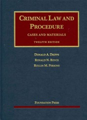 Criminal Law and Procedure 12th Edition 9781609302351 1609302354