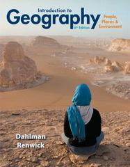 Introduction to Geography 6th Edition 9780321935106 0321935101