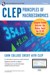 CLEP Principles of Macroeconomics Book + Online 2nd Edition 9780738683744 0738683744