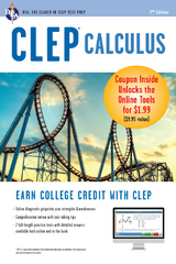 CLEP Calculus Book + Online 2nd Edition 9780738683805 0738683809