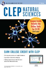 CLEP Natural Sciences Book + Online 2nd Edition 9780738683911 0738683914
