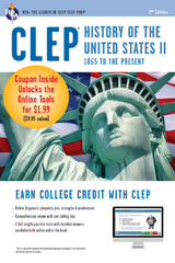 CLEP History of the U.S. II Book + Online 2nd Edition 9780738683928 0738683922