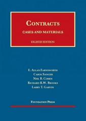 Farnsworth, Sanger, Cohen, Brooks and Garvin's Cases and Materials on Contracts 8th Edition 9781609300975 1609300971