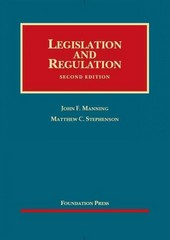 Legislation and Regulation 2nd Edition 9781609302177 1609302176