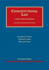 Constitutional Law 14th Edition 9781609302566 1609302567