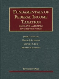 Fundamentals of Federal Income Taxation 17th Edition 9781609303570 1609303571