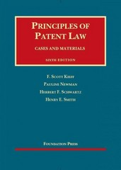 Principles of Patent Law 6th Edition 9781609303624 1609303628