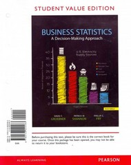 Business Statistics, Student Value Edition Plus NEW MyStatLab with Pearson eText -- Access Card Package 9th Edition 9780321869531 0321869532