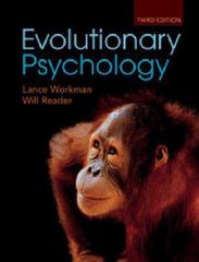Evolutionary Psychology 3rd Edition 9781107777194 1107777194