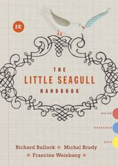 The Little Seagull Handbook 2nd Edition 9780393935806 0393935809