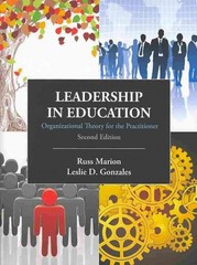 Leadership in Education 2nd Edition 9781478617532 1478617535