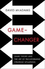 Game-Changer 1st Edition 9780393239676 0393239675