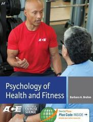 Psychology of Health and Fitness 1st edition 9780803628274 0803628277