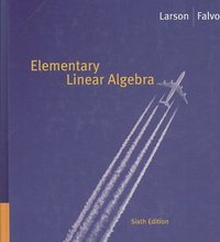 Elementary Linear Algebra 6th edition 9780618783762 0618783768