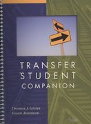 Transfer Student Companion 1st Edition 9780618924868 0618924868