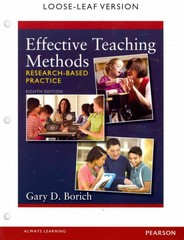 Effective Teaching Methods 8th Edition 9780133413847 0133413845