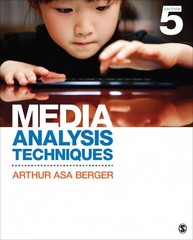 Media Analysis Techniques 5th Edition 9781452261355 1452261350