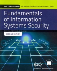 Fundamentals of Information Systems Security 2nd Edition 9781284031645 1284031640