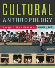 Cultural Anthropology 1st Edition 9780393521504 0393521508