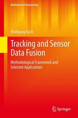 Tracking and Sensor Data Fusion 1st Edition 9783642392702 3642392709