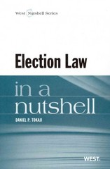 Tokaji's Election Law in a Nutshell 1st Edition 9780314268471 0314268472