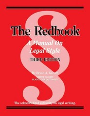 Garner's the Redbook 3rd Edition 9780314289018 0314289011