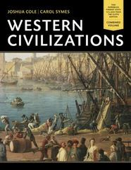 Western Civilizations 18th Edition 9780393123692 0393123693